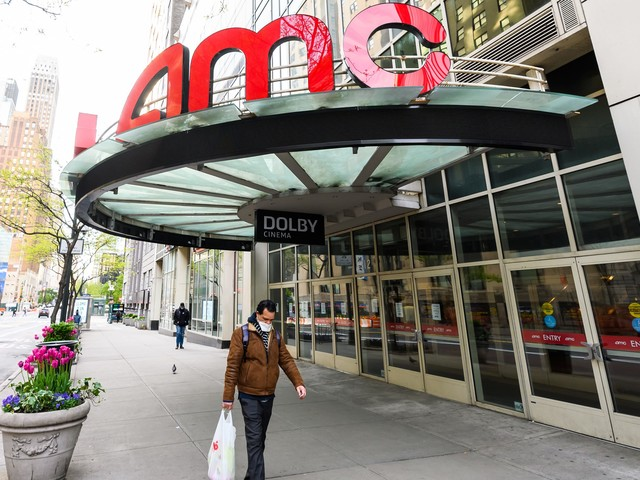 AMC skyrockets 14% on report the company is nearing a deal to avoid bankruptcy (AMC)