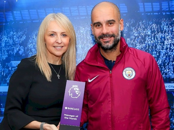 Man City: Pep Guardiola Named Premier League 'Manager Of The Month' For Record Third Time On The Bounce (Photo)