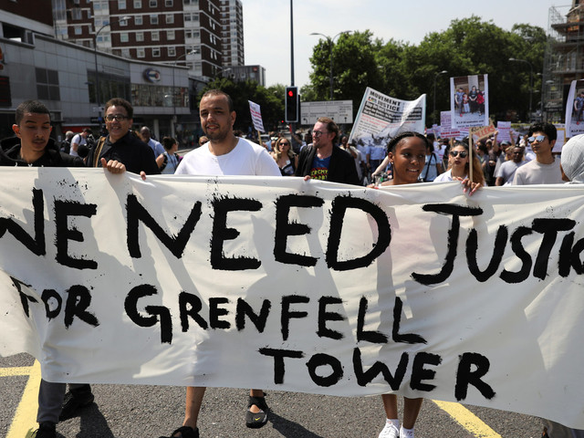 Grenfell Protest To Demand Snap Local Election At Kensington Town Hall