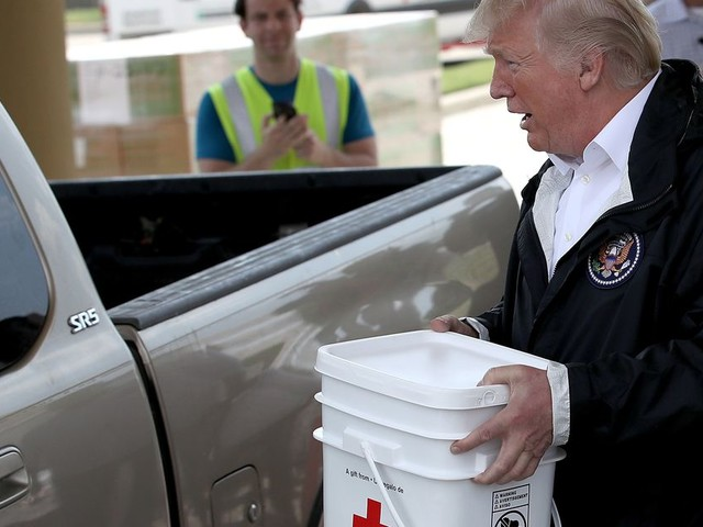 Trump doesn't come close to these celebs when it comes to Harvey donations