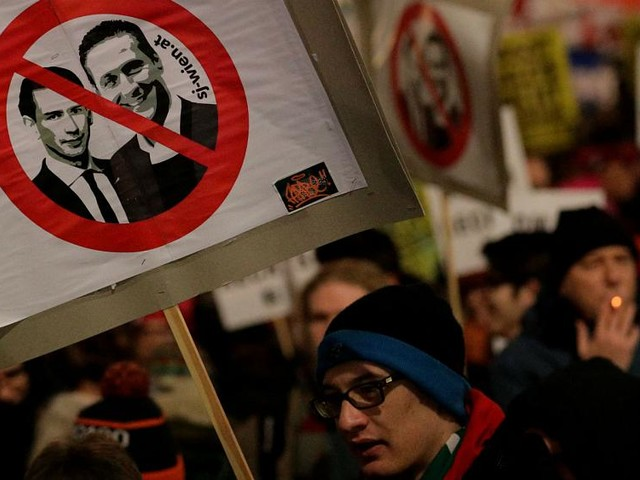Austrian far-right party pledges to clean up pro-Nazi image