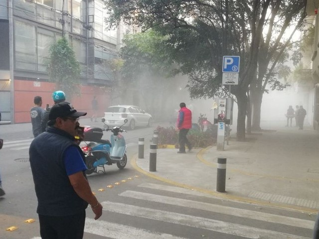 Massive 7.2 earthquake rocks Mexico City as buildings shake for more than a minute