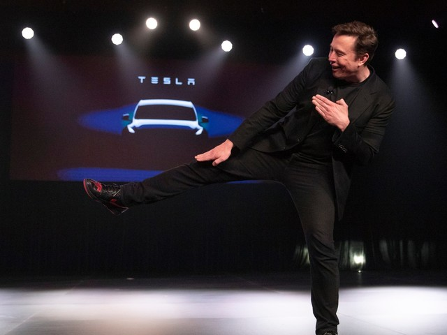 Elon Musk just revealed the Tesla Model Y — and he's still the greatest car salesman who ever lived (TSLA)
