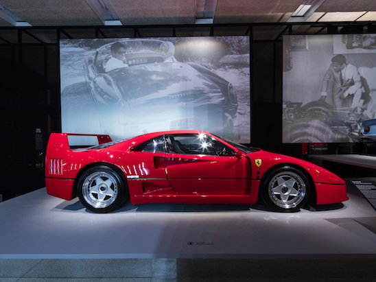 Here's a Sneak Peak at Ferrari's Awesome Under the Skin Exhibition in London