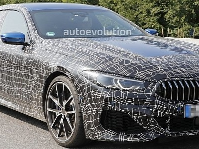 BMW M850i Gran Coupe Spied in Traffic, Looks Gigantic