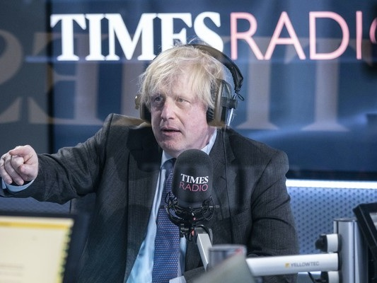 Johnson says Covid-19 pandemic has been an 'absolute nightmare' for the UK