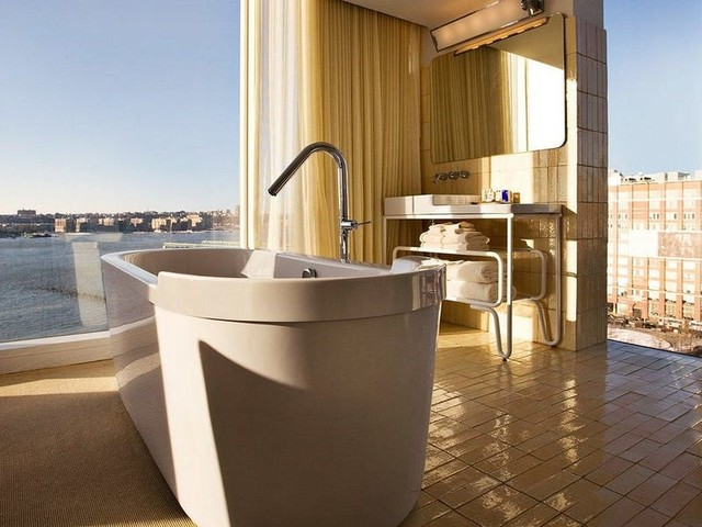 16 stunning hotel bathrooms that are the best part of the room — all under $500