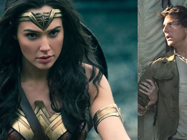 'Wonder Woman' whips Tom Cruise at the U.S. box office, but 'The Mummy' rules the world