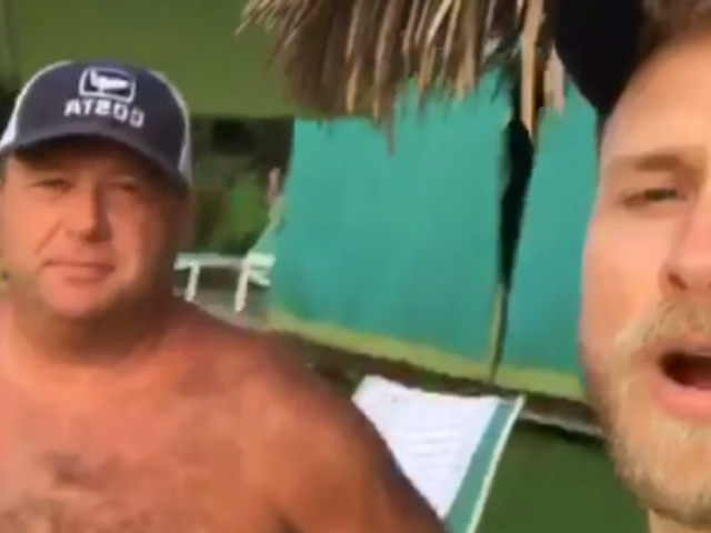 You Can't Unsee Alex Jones And Spencer Pratt On Vacation