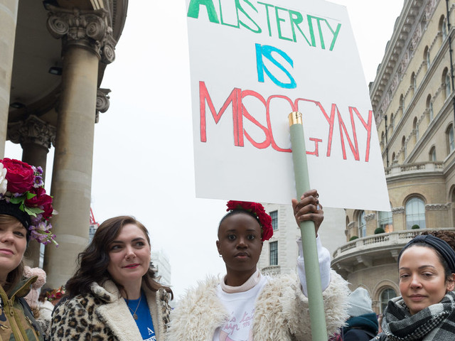 Women's March London: The Best Placards From This Year's Demonstration