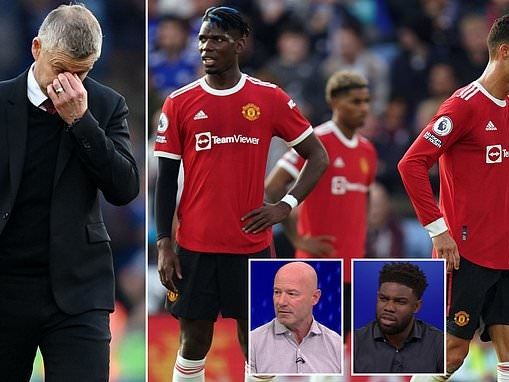 Alan Shearer and Micah Richards SLAM Manchester United's lack of identity after defeat at Leicester