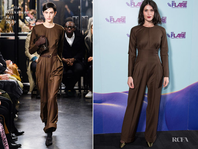 Gemma Arterton In Emilia Wickstead – 'Vita & Virginia' UK Premiere & Opening Night Gala