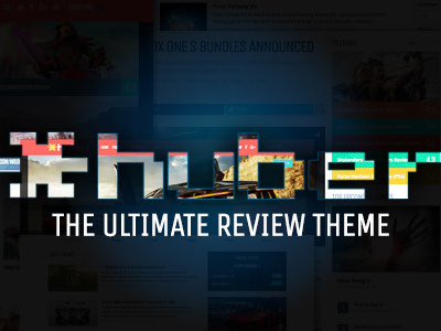Huber: Multi-Purpose Review Theme (Blog / Magazine)