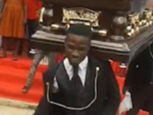 Ghana's dancing pallbearers celebrate life of the deceased