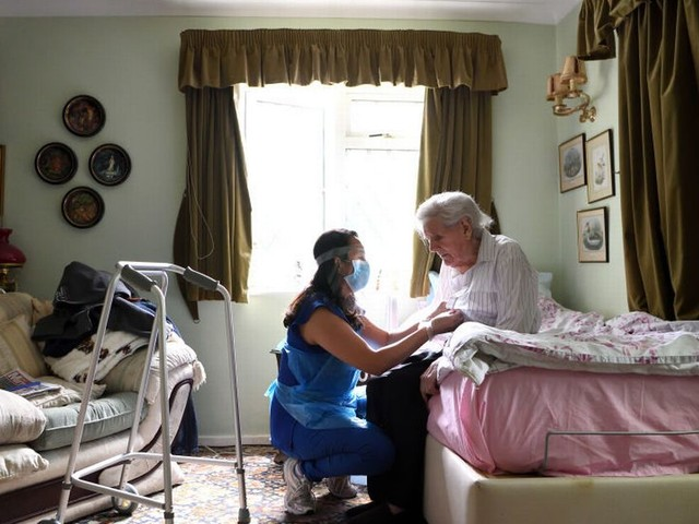 Covid jabs 'to become compulsory for care home staff in England under new plans'