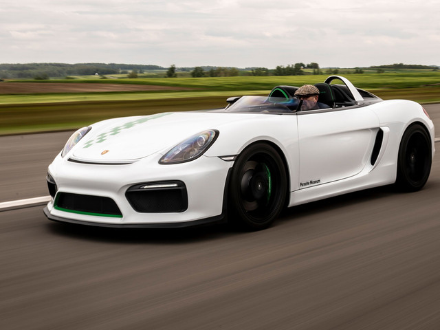 Porsche Boxster Bergspyder unveiled as roofless Cayman GT4