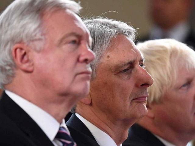Philip Hammond tells Boris Johnson that 'everyone is sackable' after his latest Brexit intervention