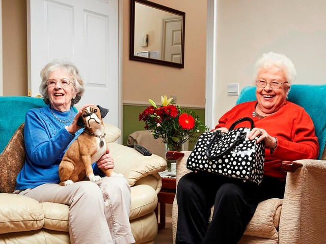 Gogglebox best friends Mary and Marina get Covid jab together for moral support