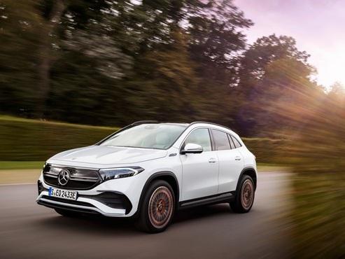 Mercedes reveals EQA compact electric SUV