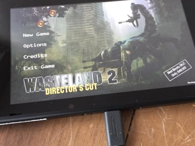 InXile teases Wasteland 2 on Nintendo Switch