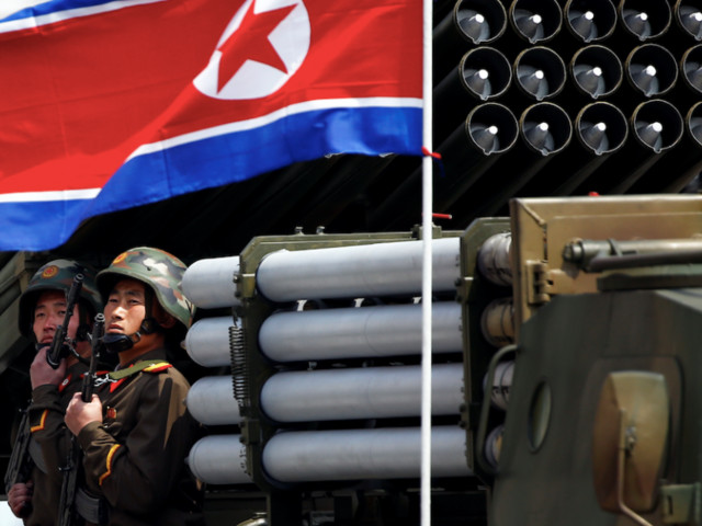 North Korea is reportedly preparing a massive parade of missiles intended to 'scare the hell out of' the US