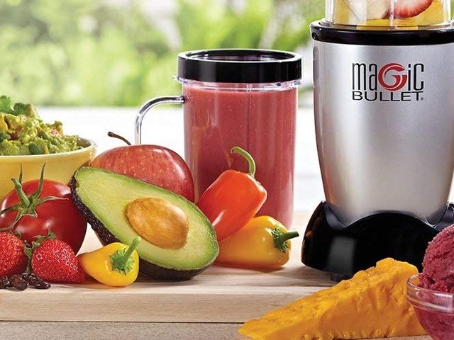 The Magic Bullet blender from infomercials of yore was one of the best purchases I've ever made — and it happens to be on sale for $28 right now