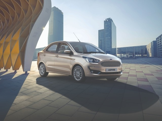 Book the New Ford Aspire at Any Ford Dealership for INR 11,000