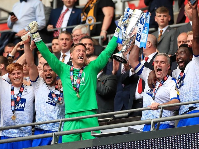 Tranmere Rovers promoted to League One following dramatic victory over Newport County in play-off final