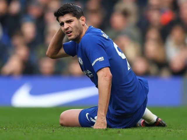 Alvaro Morata ruled out of Chelsea's game against Huddersfield Town