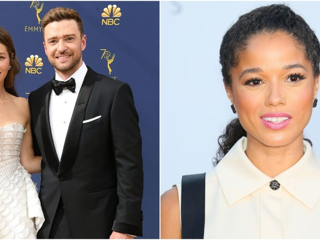 Justin Timberlake apologized for his 'lapse in judgment' after he was pictured holding hands with costar Alisha Wainwright on a night out