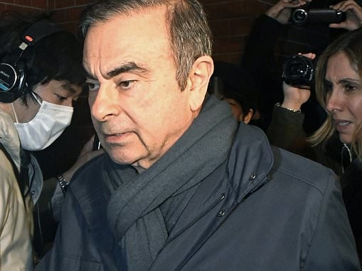 Former Nissan boss Carlos Ghosn is hit by fresh charges over alleged misuse of company funds