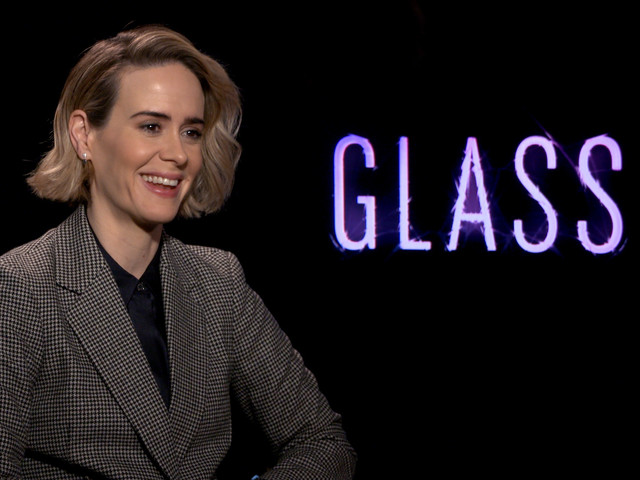 Sarah Paulson Says Filming This 'Glass' Scene Felt Like an Out-of-Body Experience