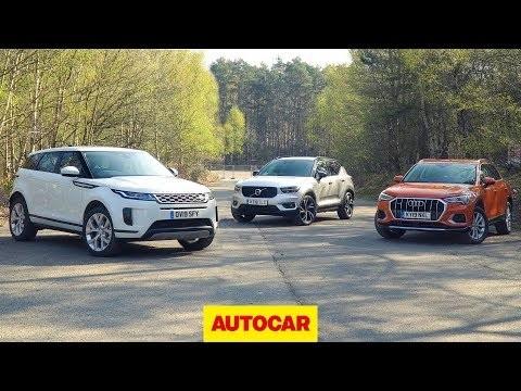 2019 Range Rover Evoque vs Volvo XC40 vs Audi Q3: which is the best premium small SUV?
