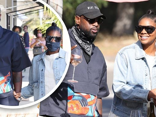Gabrielle Union and her husband Dwyane Wade are the toast of the town