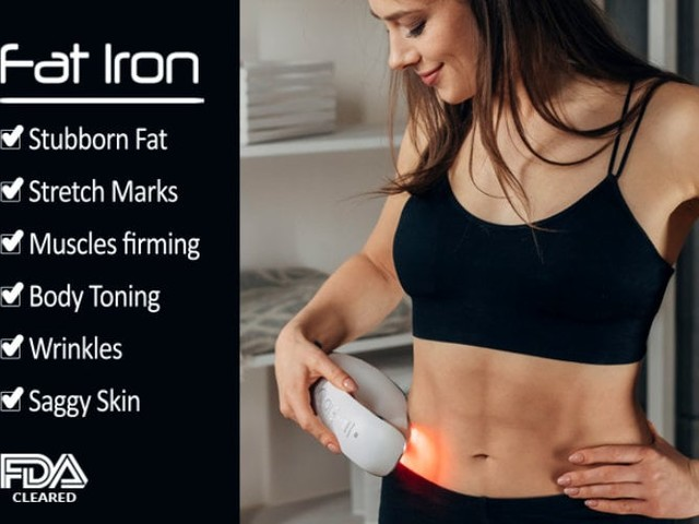 "Lumina Fat Iron ""irons off"" stubborn fat, saggy skin, stretch marks and more"