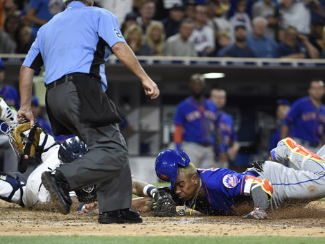 Cespedes Leads Mets Past Padres, 6-5