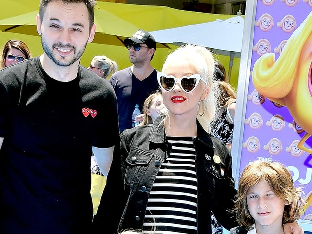 Christina Aguilera's Son Max Fills in for His Mom at Her Dance Rehearsal