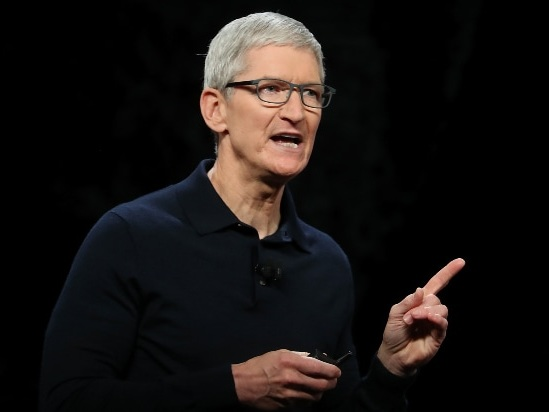 Apple CEO Tim Cook Defends Parler Shutdown: 'Free Speech and Incitement to Violence' Has No 'Intersection'