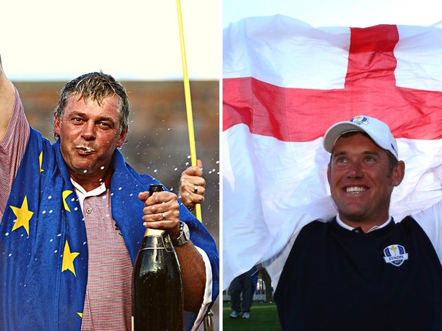 Why are British golfers playing under European flag at Ryder Cup?