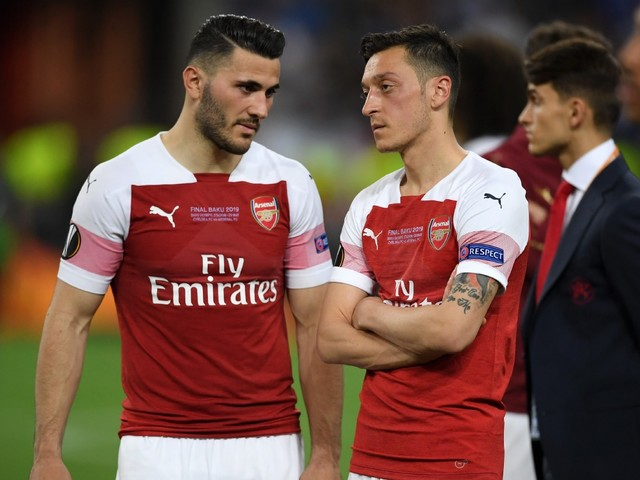 What is going on with Mesut Ozil and Sead Kolasinac?