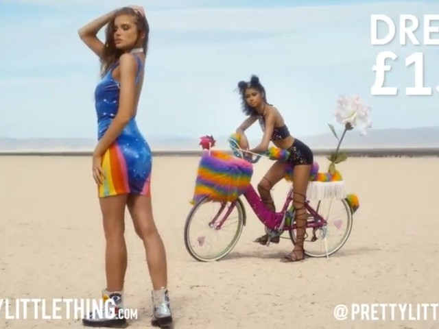 PrettyLittleThing ad banned because models appeared 'too young'