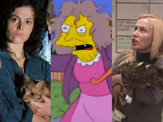 10 Crazy Cat Ladies in Movies and TV, From 'Alien' to 'The Office' (Photos)
