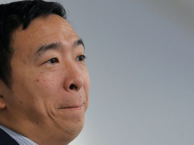 Andrew Yang asks 'can you imagine' working from home in a two-bedroom apartment with kids