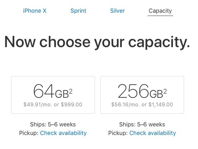 iPhone X Pre-Order Supplies Sell Out, Shipping Estimates Slip Drastically [Update: 5 to 6 Weeks]