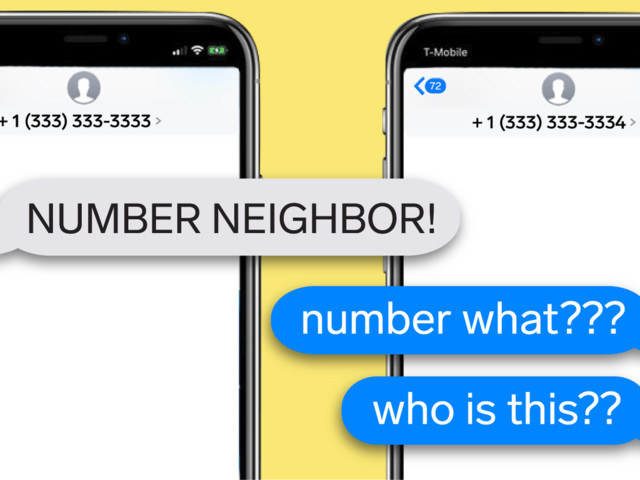 Here's why the internet is obsessed with 'number neighbors,' a viral trend where people text phone numbers one digit away from their own