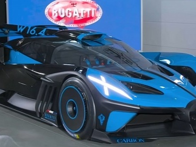 1,825 HP Bugatti Bolide Track Car Revealed, Limited Production Considered