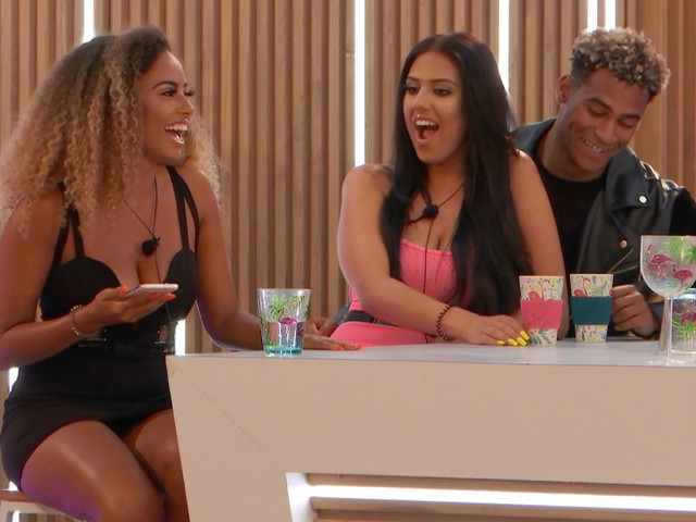 Love Island's Amber moves on from Michael as she gets a date with hot new boy Greg in the Hideaway