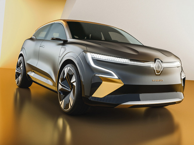 New Renault Megane eVision is first of new electric family
