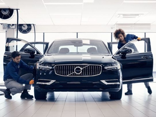 Vehicle Servicing Apps - The Volvo Valet App is Now Available to All Users in the Unites States (TrendHunter.com)