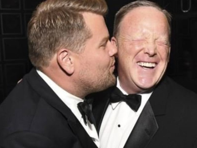 James Corden Addresses *That* Sean Spicer Photo But Falls Short Of Apologising Following Backlash